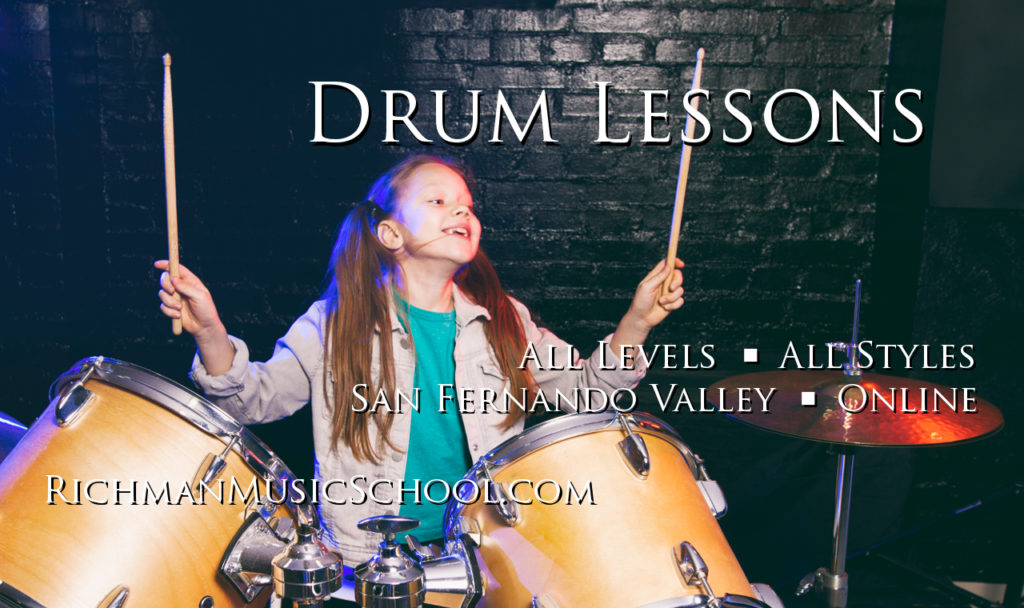 Drum Lessons - San Fernando Valley