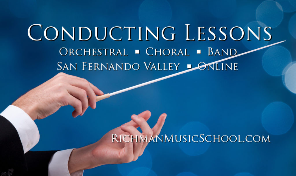 Conducting Lessons - San Fernando Valley